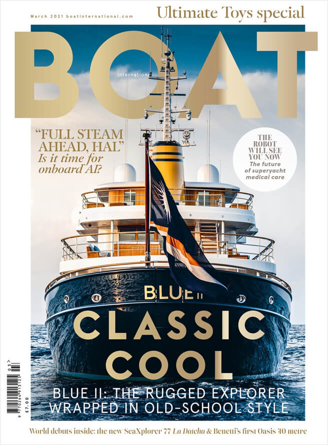 Boat International Press Cover